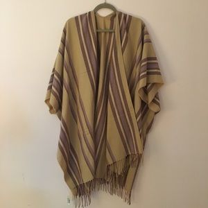 Madewell cape/ pancho